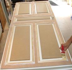 Portes blind es exemples de r alisations for Porte prete a peindre